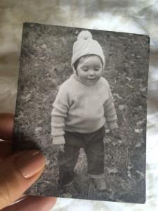 Penny Webb as a little girl